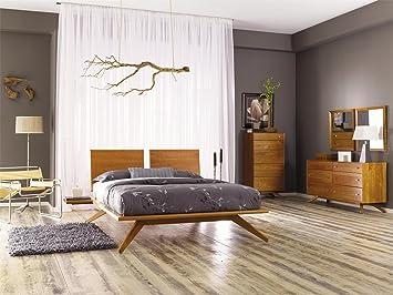 Copeland Astrid - Estantería de madera de cerezo (derecha): Amazon.es: Jardín
