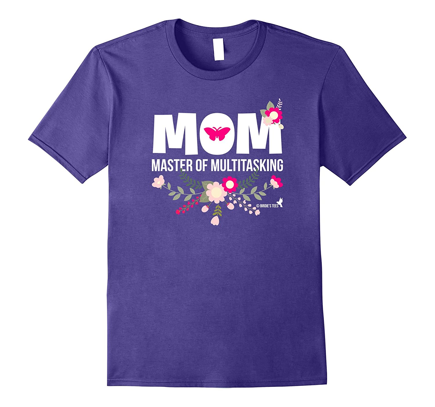 Mothers Day T-Shirt for Mom Master of Multitasking-TD