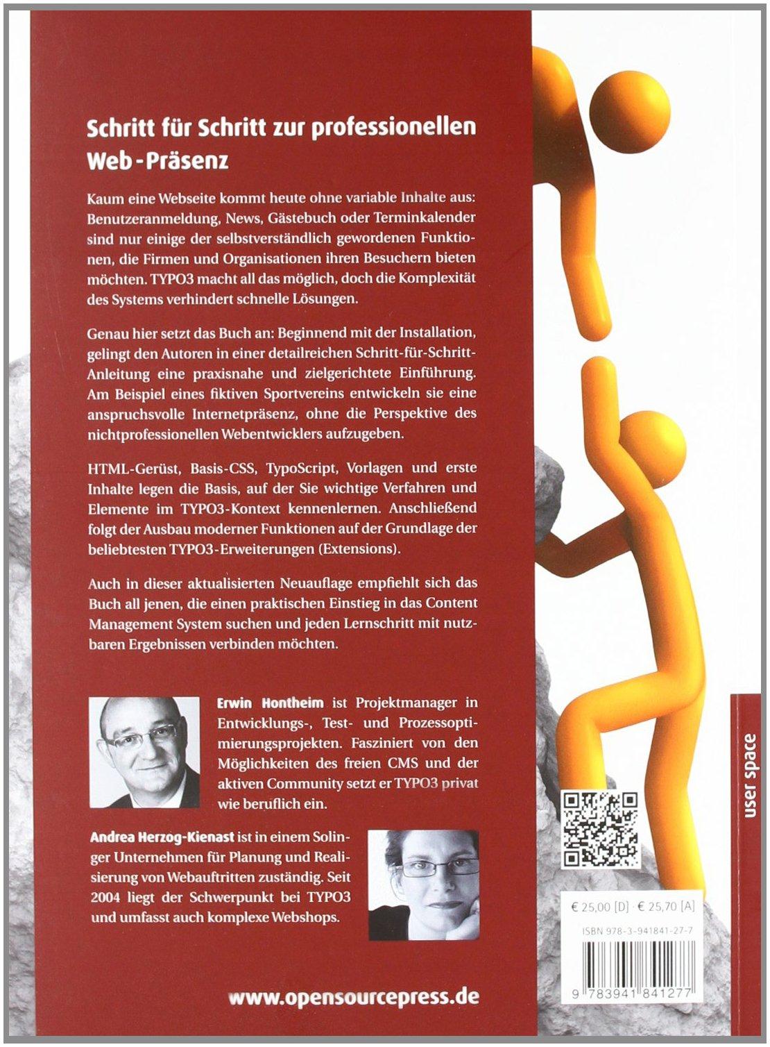 Das TYPO3-Buch: Schritt für Schritt zur professionellen Web ...