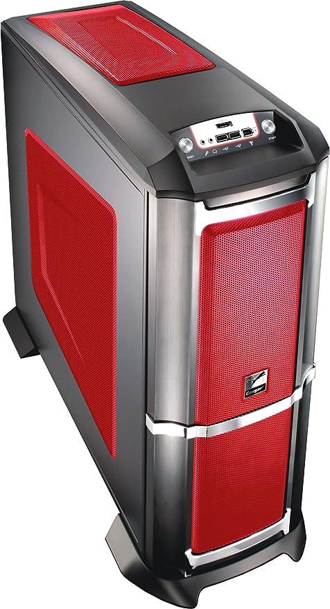 Compucase Super Gaming - Caja para CPU ATX, Color Rojo: Amazon.es ...