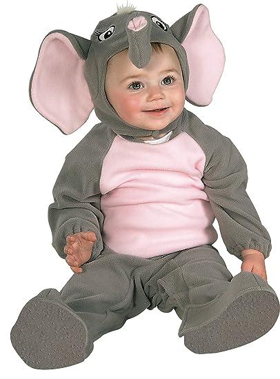 Disfraz De Elefante Para Niño, Talla Bebé 6-12 Mes...