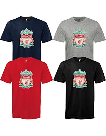 4147c897a60 Liverpool FC Official Football Gift Mens Crest T-Shirt