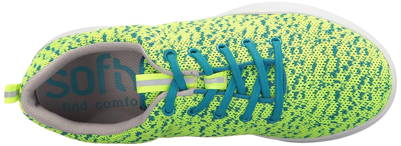 SoftWalk 9 Women's Sampson Sneaker B01M5KCTXI 9 SoftWalk N US|Lime Knit f69753