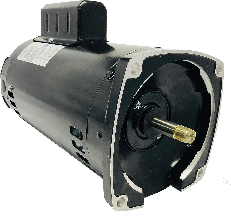 GW YYN5672-L7 1.5HP, 3450RPM, 1.3 Service Factor, 56Y Frame, 115V/208-230V, Square Flange Pool Pump Motor