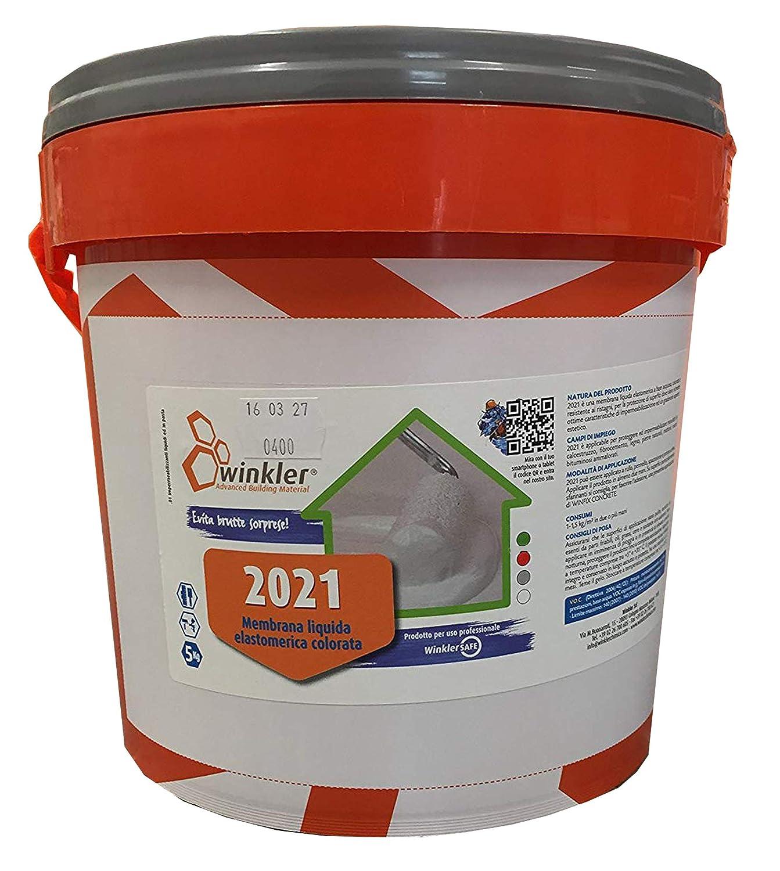 2021 Guaina liquida colorata impermeabilizzante kg. 5 (Rosso) Winkler s.r.l.