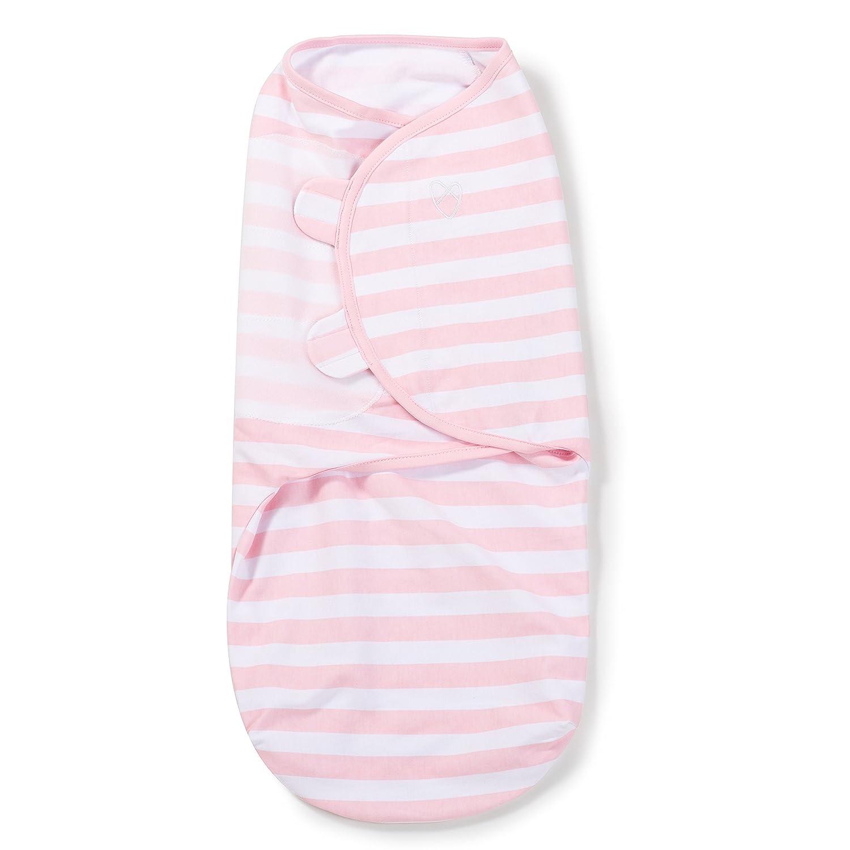 SwaddleMe 55314 1 Pack LG Pink Stripe Blankets Summer Infant
