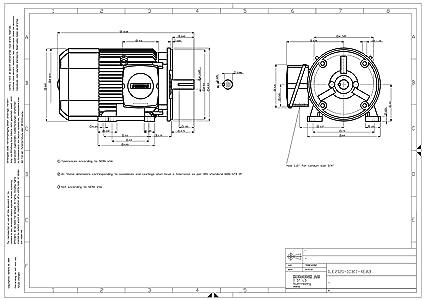 Sie 1LE21211CB114EA3 3-HP 1800 Rpm 208 230/460-volt ... on