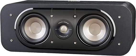 Polk Audio Signature Series S30 Center Channel Speaker (2 Drivers) | Surround Sound | Power Port Technology | Detachable Magnetic Grille