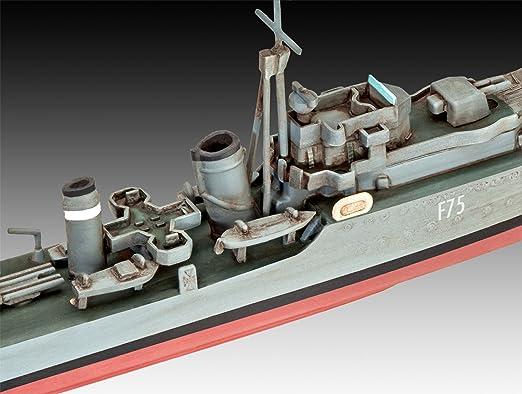 Revell of Germany HMS Ark Royal & Tribal Destroyer