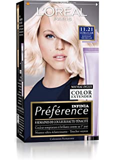 Coloration blonde efficace