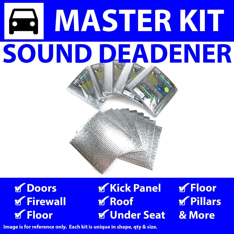 Zirgo 317447 Heat /& Sound Deadener for 59-64 Chrysler In Cabin Stg2 Kit