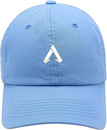 TOP LEVEL APPAREL APEX Legends Logo Embroidered Soft Crown Unisex Baseball Dad Hat