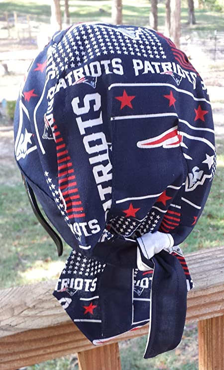 Amazon.com: : New England Patriots NFL Football DU RAG, Skull & Chemo Cap: Clothing
