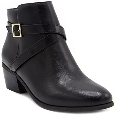 London Fog Womens Halifax Dress Boot | Ankle & Bootie