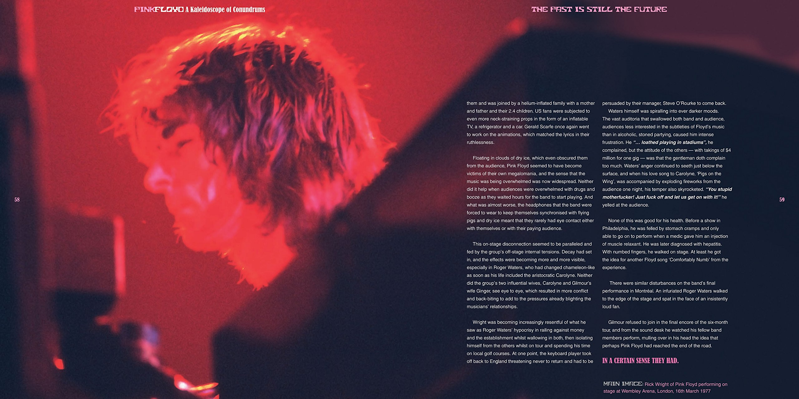 Pink Floyd: A Kaleidoscope of Conundrums (Rock Talk): Michael O