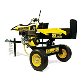 Champion Power Equipment No.92221- 22 Ton Gas powered log splitter