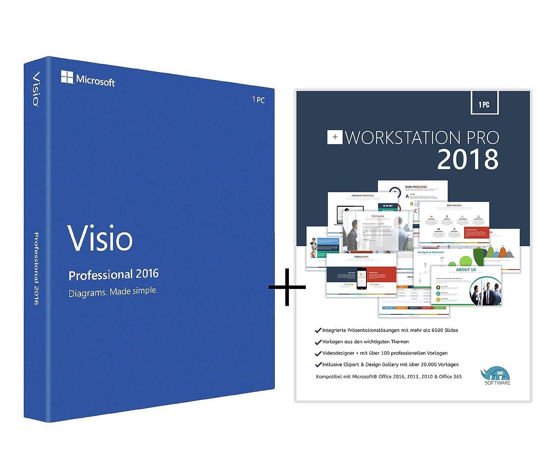 Original Microsoft Visio 2016 PRO (Professional Plus ...