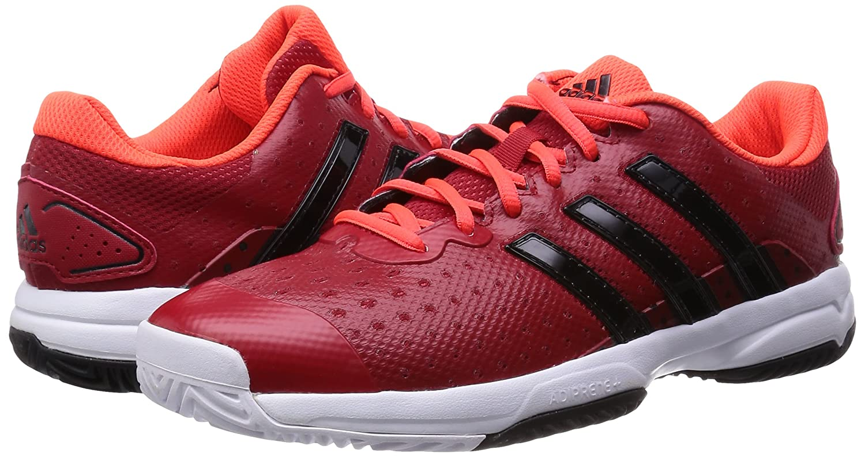 adidas boys barricata team team team 4 xj scarpe da tennis rosse rot (xj powred / cbi bced07