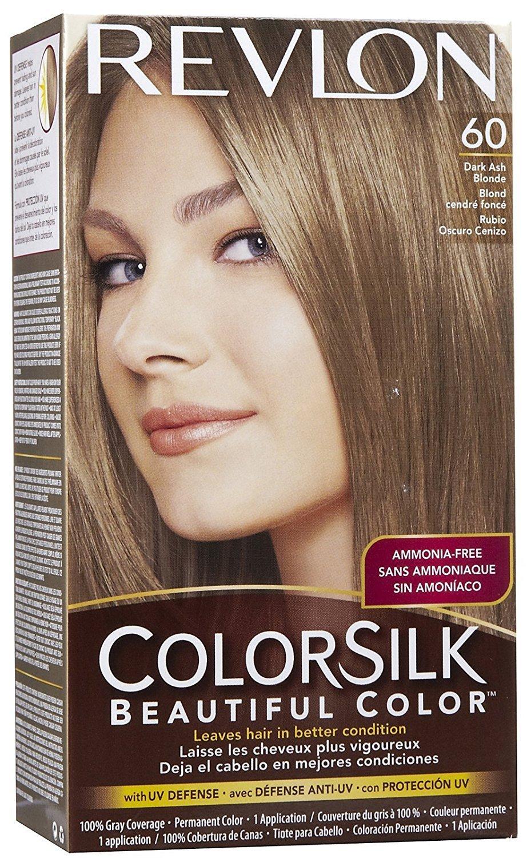 Amazon Revlon Colorsilk Hair Color 60 Dark Ash Blonde 1 Each