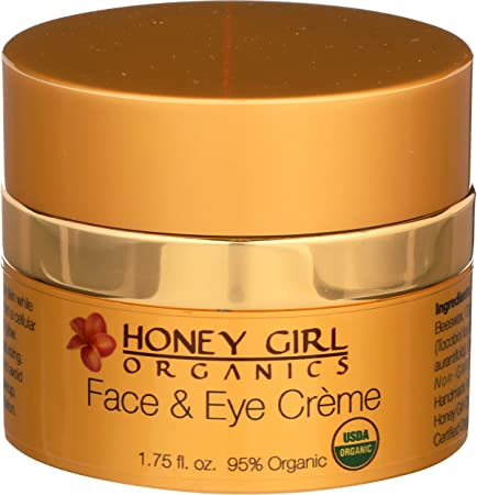 Honey Girl Organics Face And Eye Creme, 1.75 Fluid Ounce by Honey Girl Organics