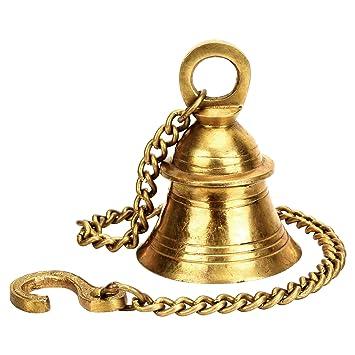 Buy Kartiquekartique Brass Wall Hanging Bells For Home Mandir Temple