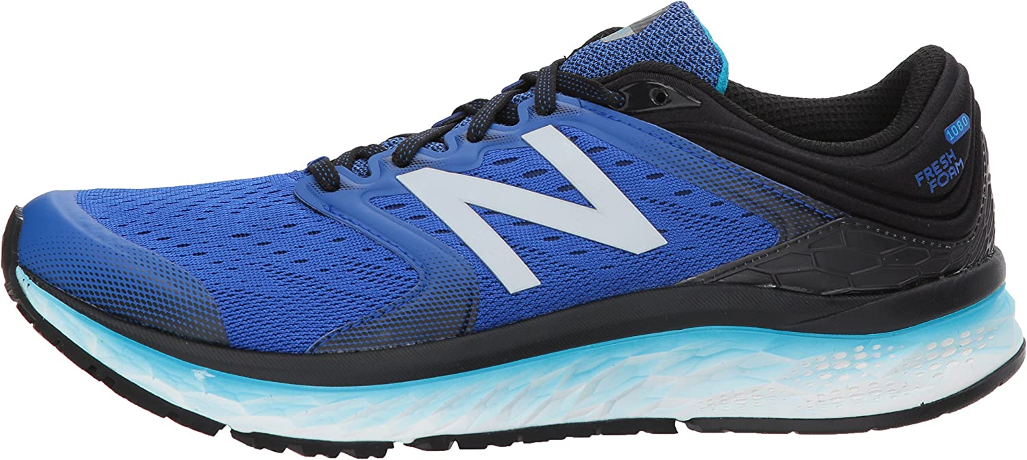 New Balance 1080v8, Zapatillas de Running para Hombre, Azul (Pacific/Black/Maldives Blue Pacific/Black/Maldives Blue), 40 EU: Amazon.es: Zapatos y complementos