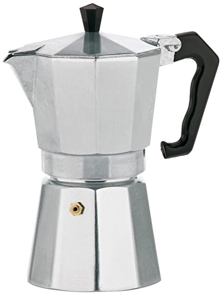 Kela 10591 Espressokocher, Für 6 Tassen, Aluminium, Italia