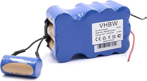 100 W Bosch Bbhmove6N Scopa Elettrica Ricaricabile