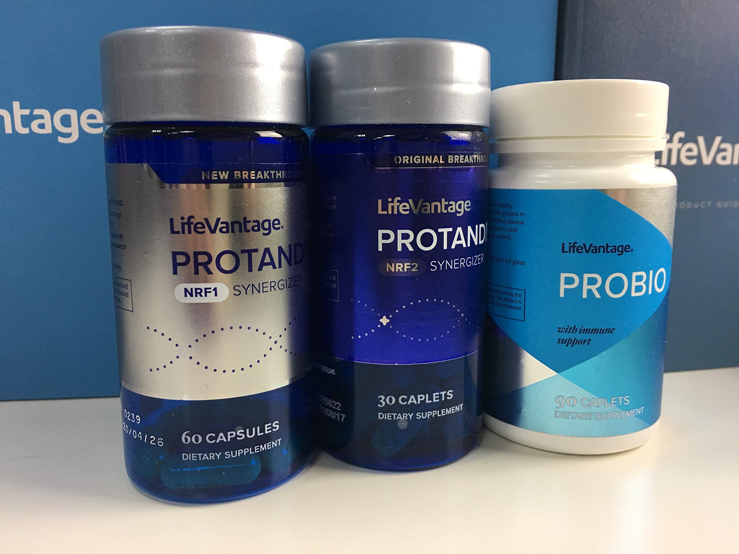 Protandim Combo (Nrf2+NRF1+ProBio) Activated Essentials Kit