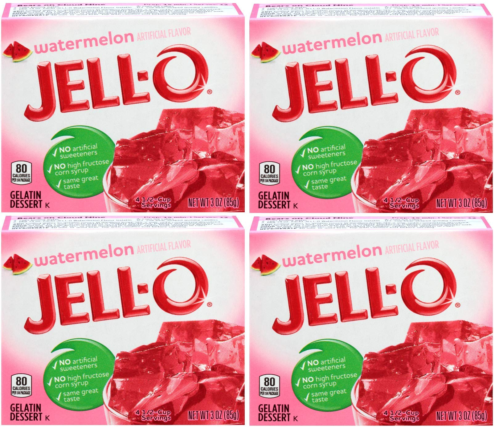 Amazon Jell O Island Pineapple Gelatin Mix 3 Oz Boxes Pack