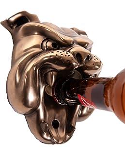 Beer Buddies Puck Wall Mounted Bottle Opener Bronze Finish