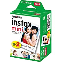 instax 16386016 Film Mini 20PK Suitable for Instax Mini Cameras including 7S ,25, 50S, 8, 70 & 90, also SHARE printer SP…