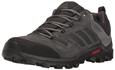 adidas outdoor Men's Caprock Gore-Tex Hiking Shoe, Black/Utility  Black/Granite
