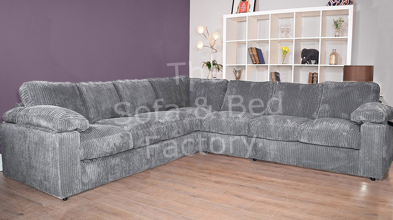 Cheap Grey Corner Sofa Ebay