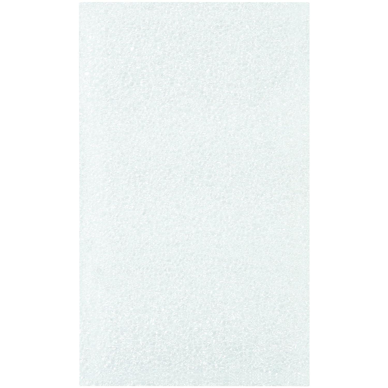 Partners Brand PFP35 Flush Cut Foam Pouches White Pack of 500 3 x 5