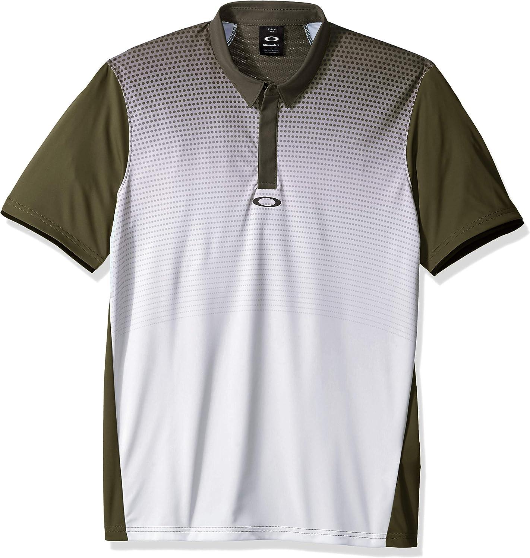 Oakley Mens Polo Shirt Ss Poliammide, Dark Brush, M: Amazon.es ...