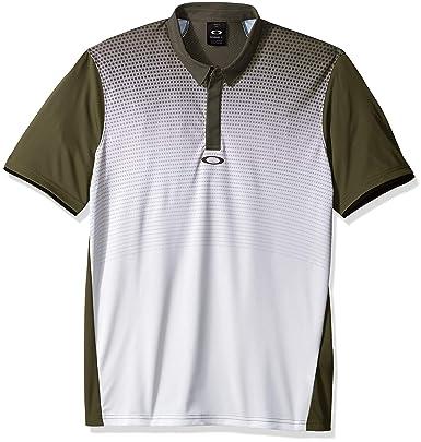 Oakley Mens Polo Shirt Ss Poliammide, Dark Brush, XL: Amazon.es ...