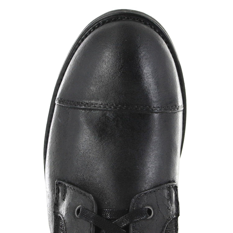 Sendra Stiefel Herren Chukka Stiefel schwarz 9791 schwarz Stiefel Schnürstiefel Herrenstiefelette 939476