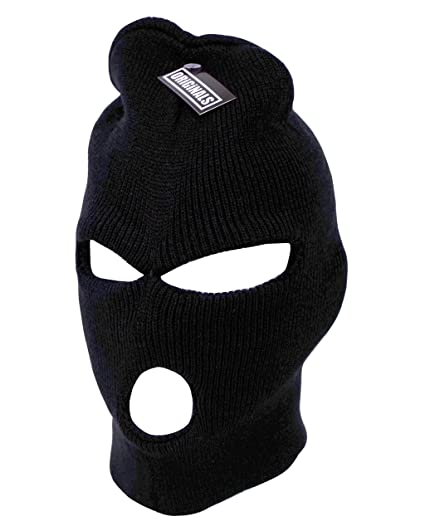 Ski Mask Beanie Knit Cap 3 Hole Face Warm Winter Snow Headwear Skully  Originals Brand ( 07ad2453ca89