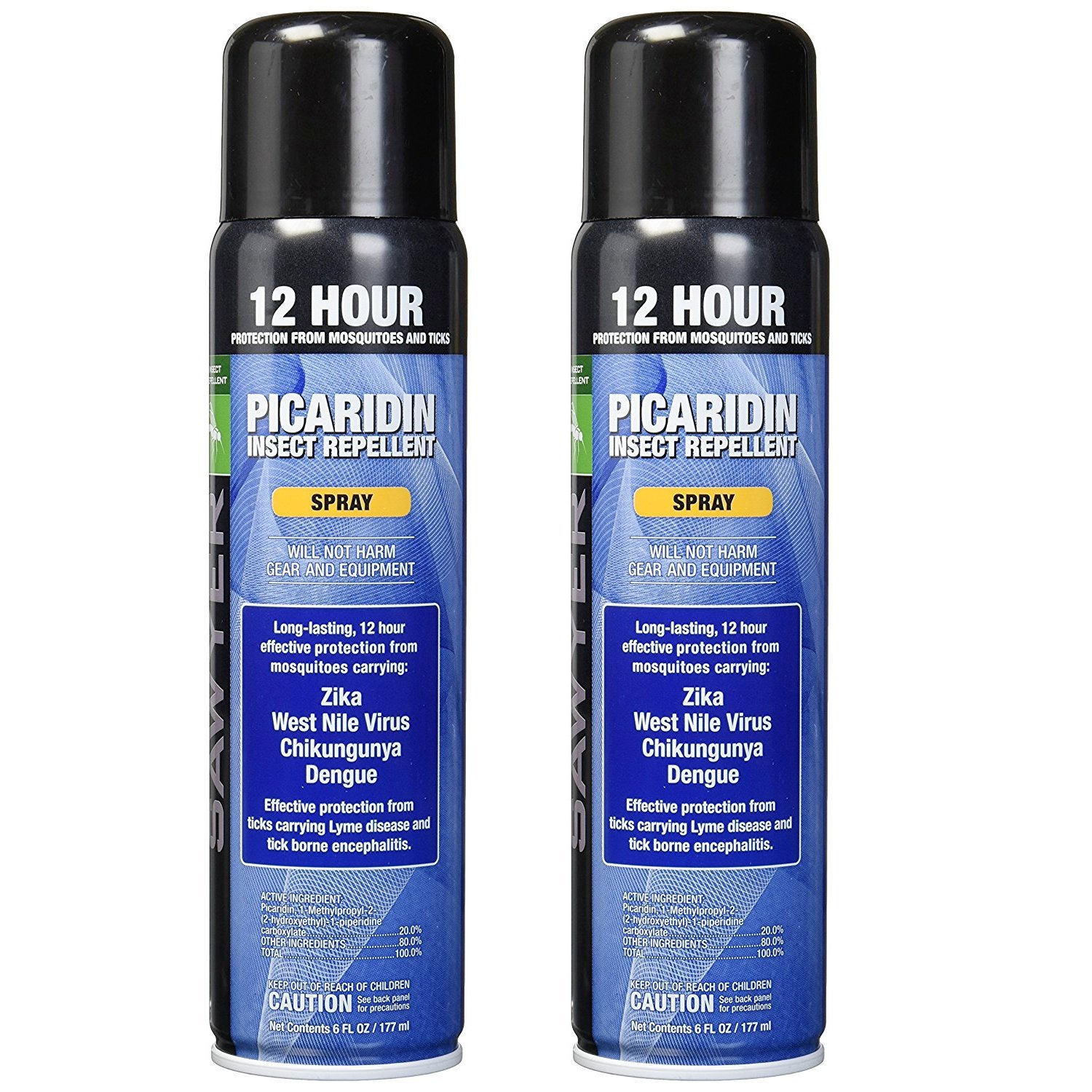 Sawyer Products SP5762 Premium Insect Repellent with 20% Picaridin, Spray, Twin Pack, 6-Ounce by Sawyer Products