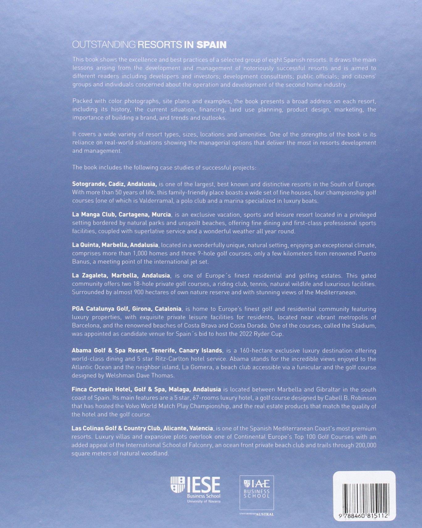 Outstanding Resort in Spain: Amazon.es: José Luis Suárez y Diego Donnelly: Libros en idiomas extranjeros