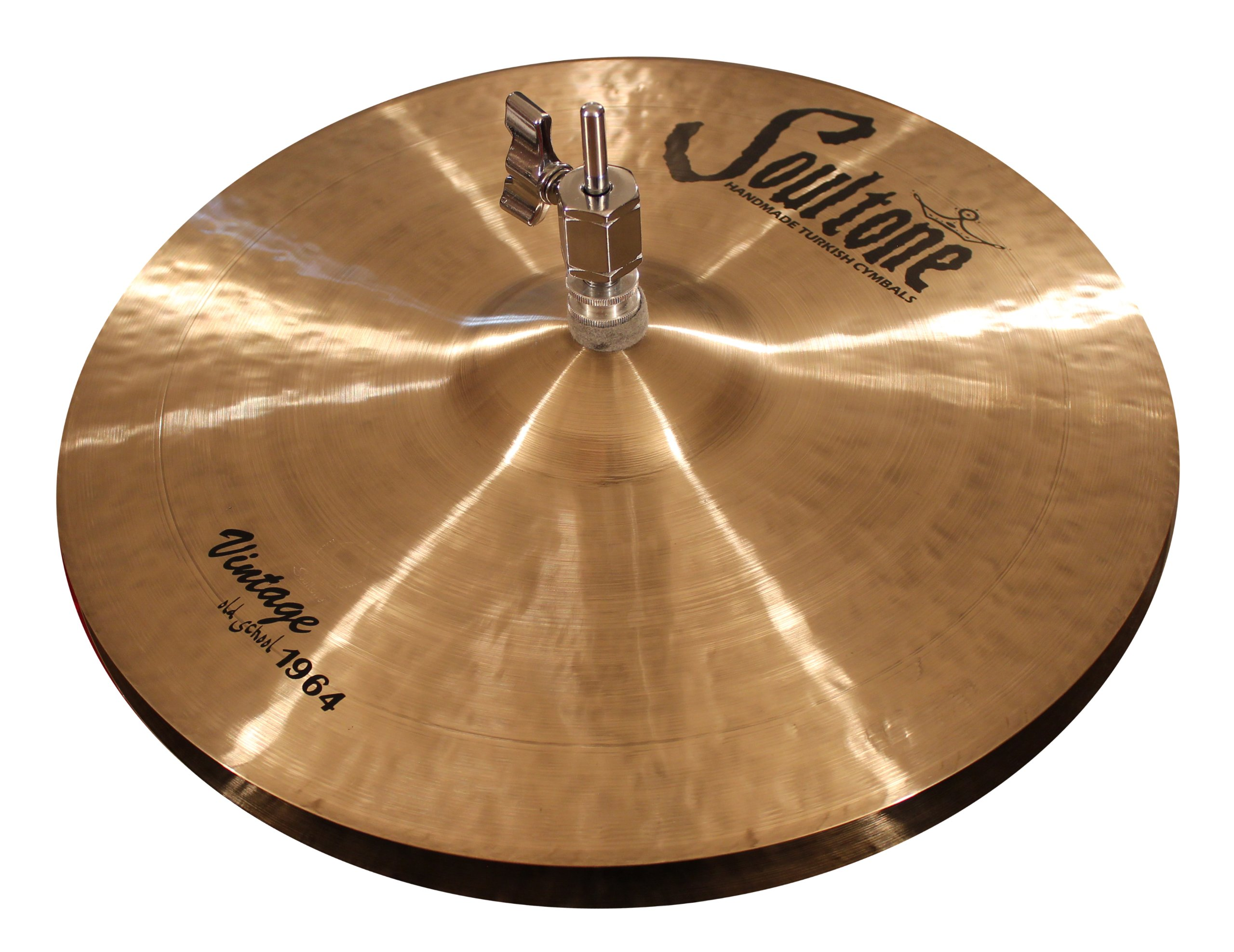Soultone Cymbals VOS64-HHTB15-15'' Vintage Old School 1964 Hi Hat Bottom Only by Soultone Cymbals
