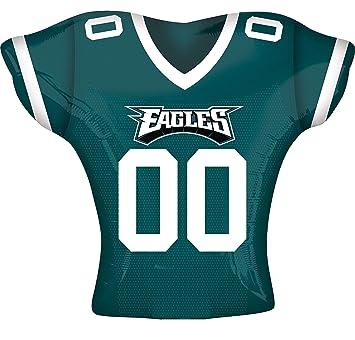 new concept 68e8d 86511 Amazon.com: Anagram International Philadelphia Eagles Jersey ...
