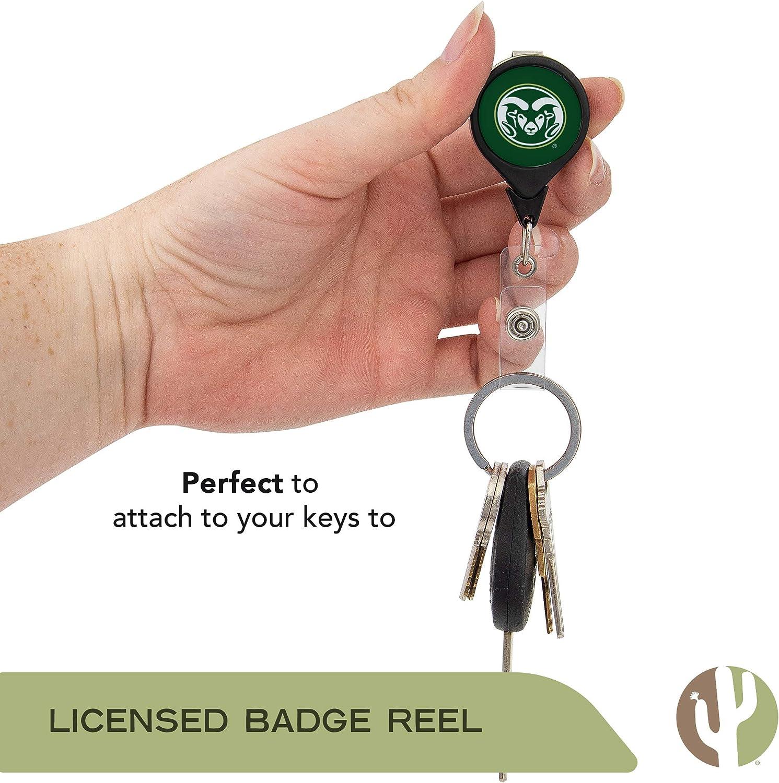 Colorado State University CSU Rams NCAA Retractable Badge Holder Ticket Clip Reel ID