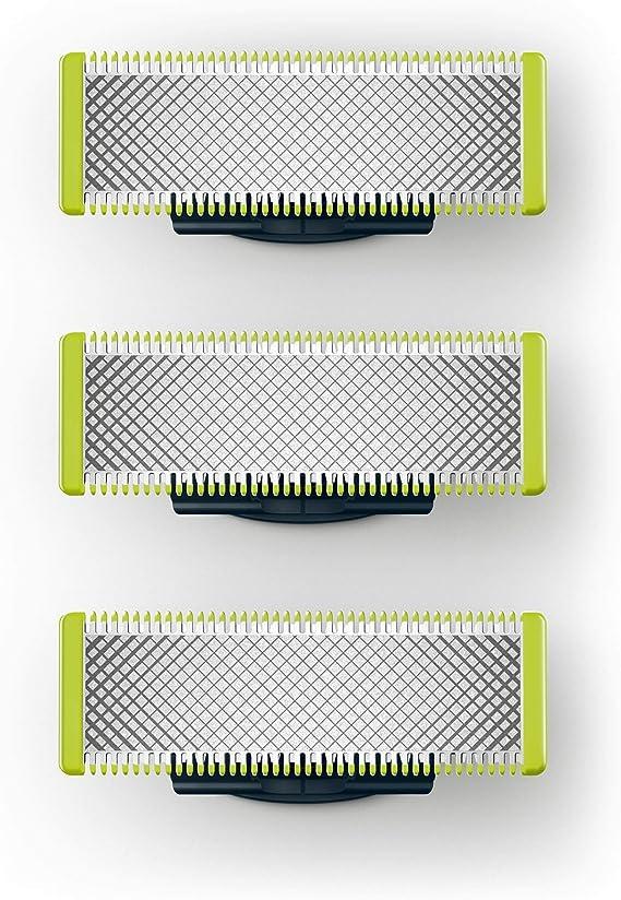 Philips QP230/50 - Cuchilla de recambio para Philips OneBlade, 3 ...