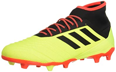 a99d94bab3ed0 adidas Men s Predator 18.2 Firm Ground Soccer Shoe