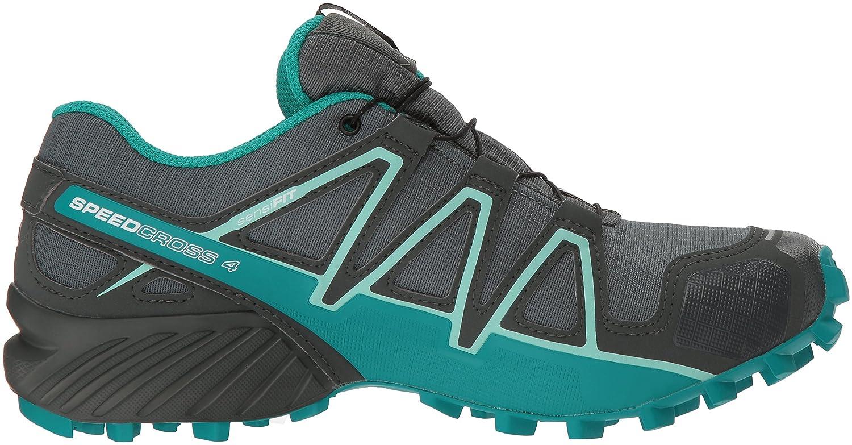 Salomon Women's Speedcross 4 GTX W 7 Trail Running Shoe B078SYDDZ9 7 W M US|Balsam Green/Tropical Green/Beach Glass aff55a