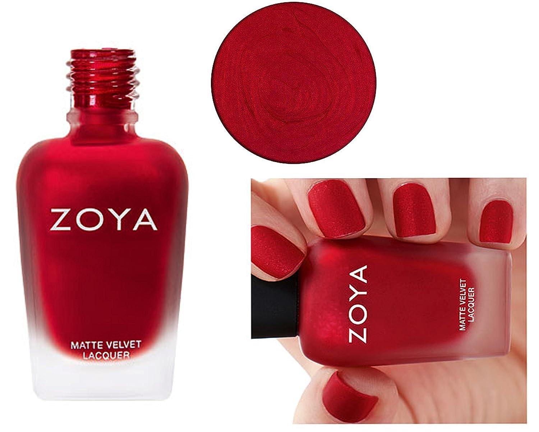 Amazon Zoya Matte Nail Polish Velvet Limit Edition Amal