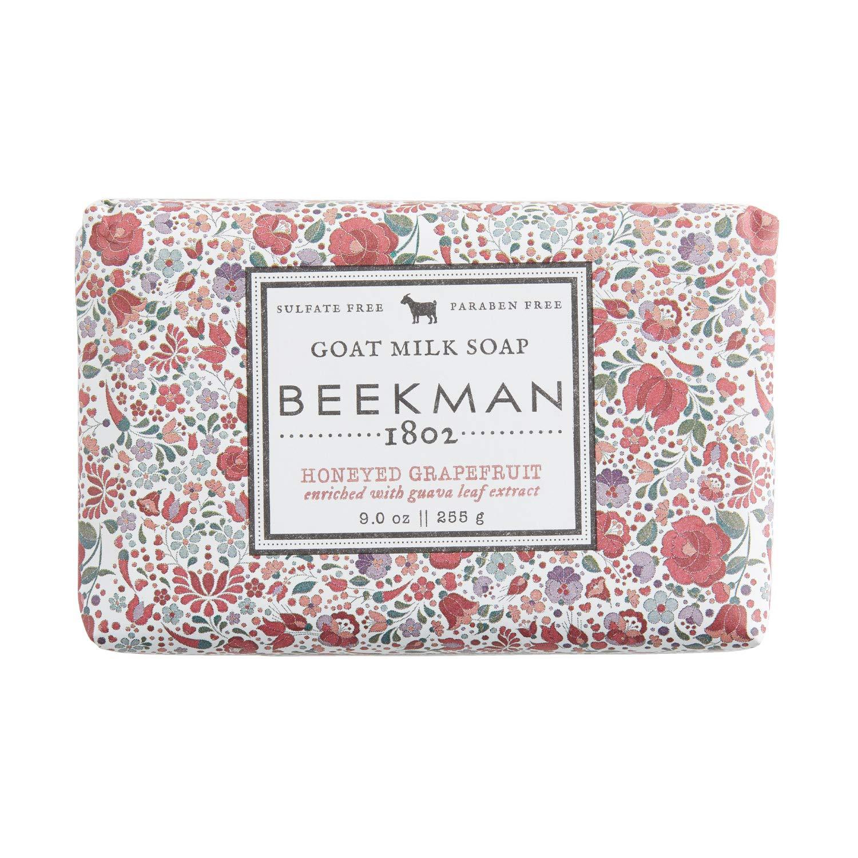 Beekman 1802 - 2021 Goat Milk Moistur Honeyed Bar Free shipping New Soap Grapefruit