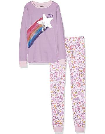 aa83a03b8383b Hatley Girl's Organic Cotton Long Sleeve Printed Pyjama Sets
